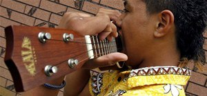 14-Year-Old Kid Shreds on Ukulele With His Teeth