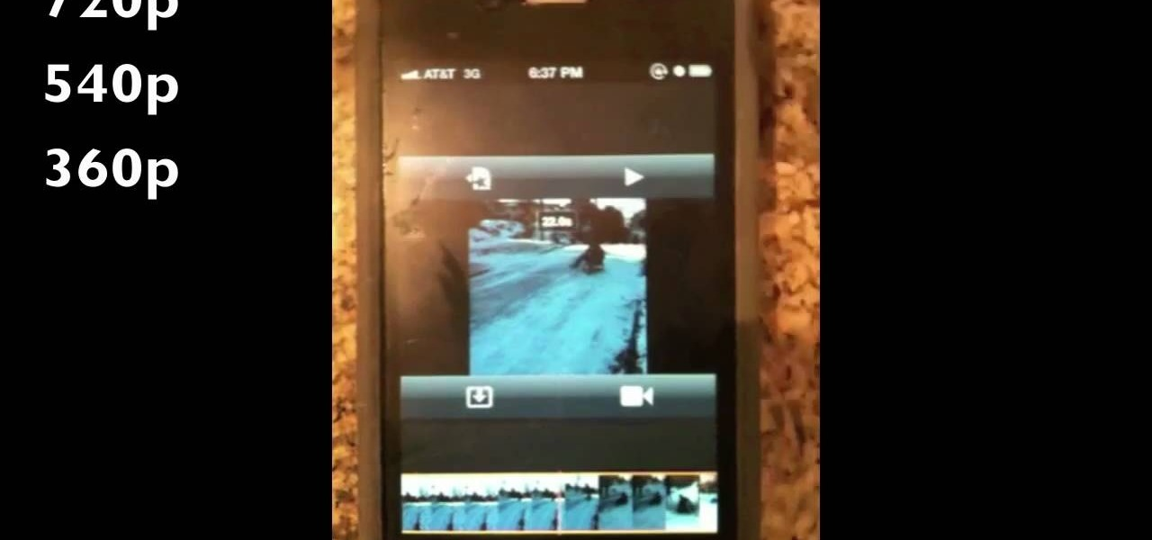 How to Edit videos on your iPhone 4 with the iMovie app