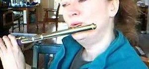 Improve your flute embouchure