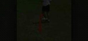 Practice 360 degree turns in soccer