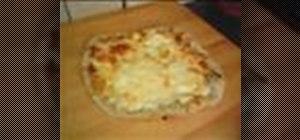 Make white pizza