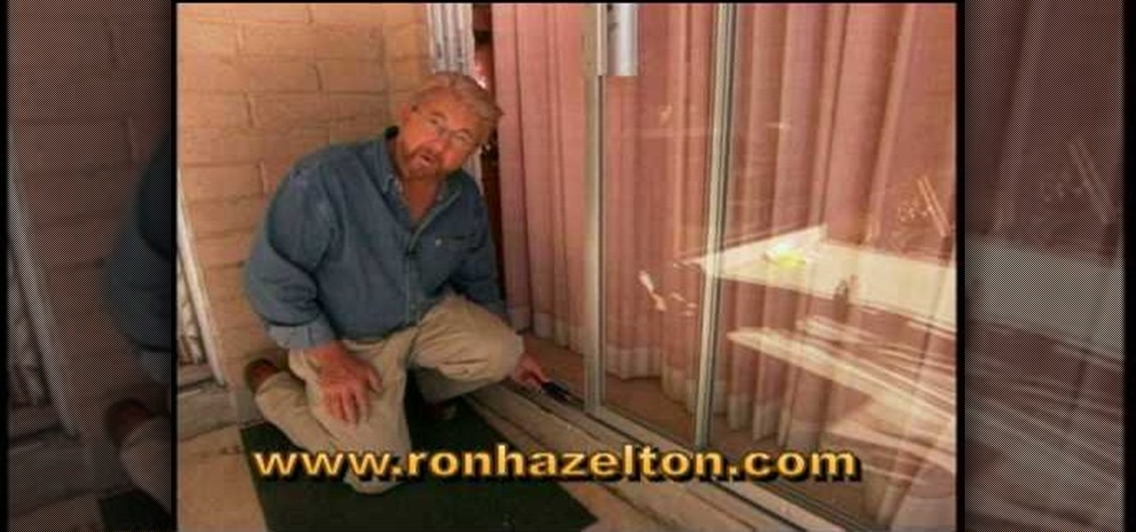 How To Adjust Repair Sliding Patio Doors Construction Repair