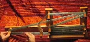 Warp an Inkle loom