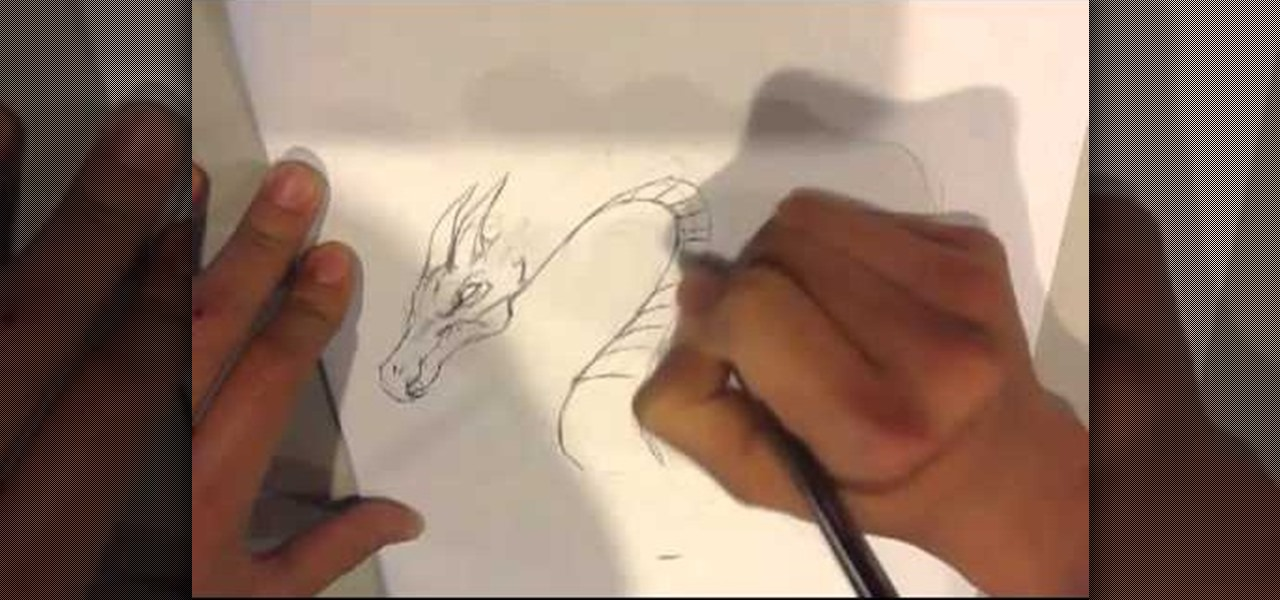 Draw a Baby Dragon