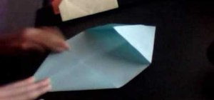 Make an origami envelope