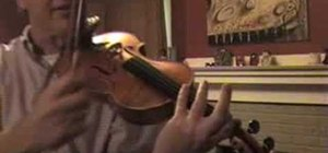 Play artificial harmonics on the violin