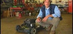 Prepare your lawn mower for winter
