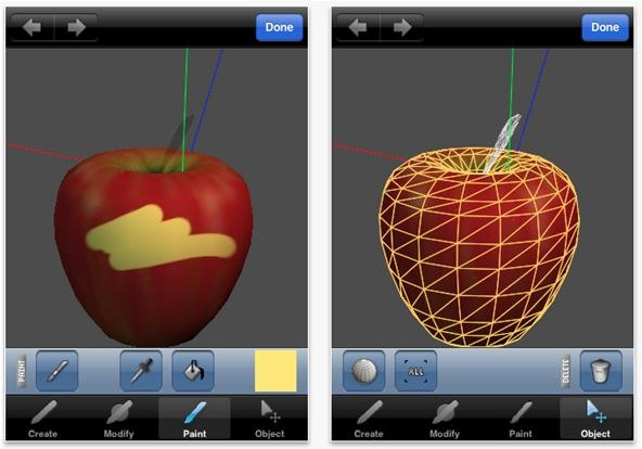 Making Art on Your iOS Device, Part 3: 3D Modeling