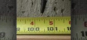 Accurately read a tape measurement