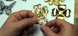 Craft brass stampings and select plating finishes