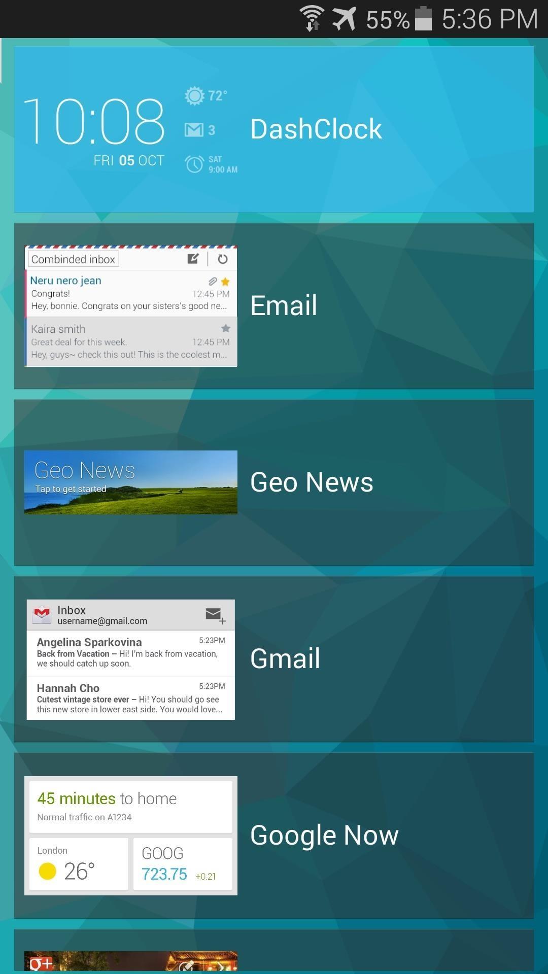How to Get Custom Lock Screen Widgets on Your Samsung Galaxy S5