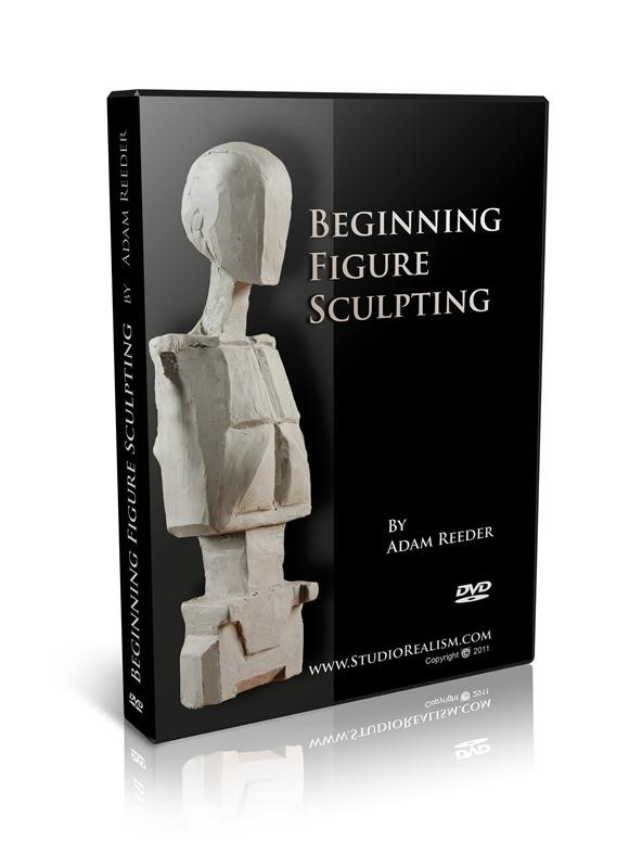 Beginning Figure Sculpting DVD Case finished!