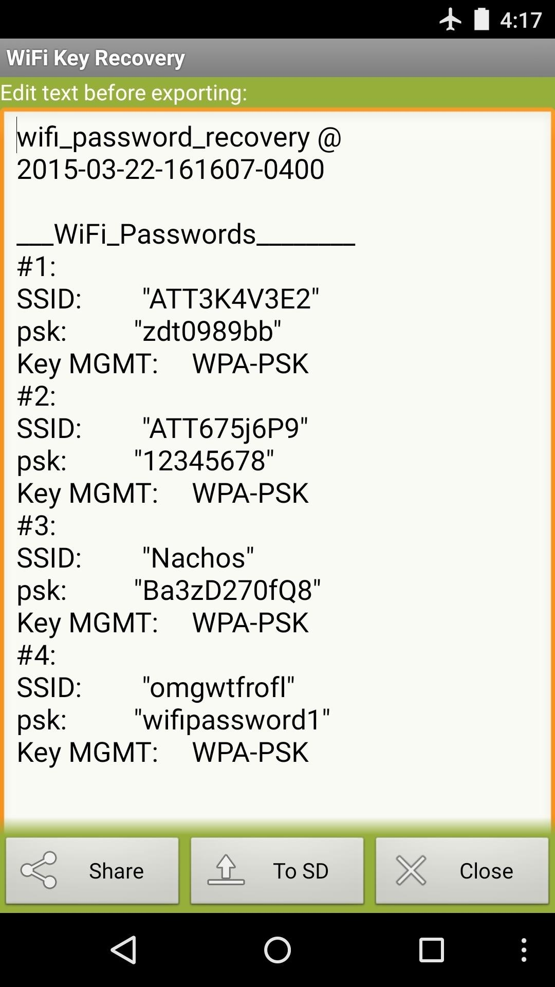 How To See Passwords For Wi Fi Networks You Ve Connected Your Android Device To Techedi