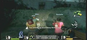 Get the Armory of One achievement in Left 4 Dead 2