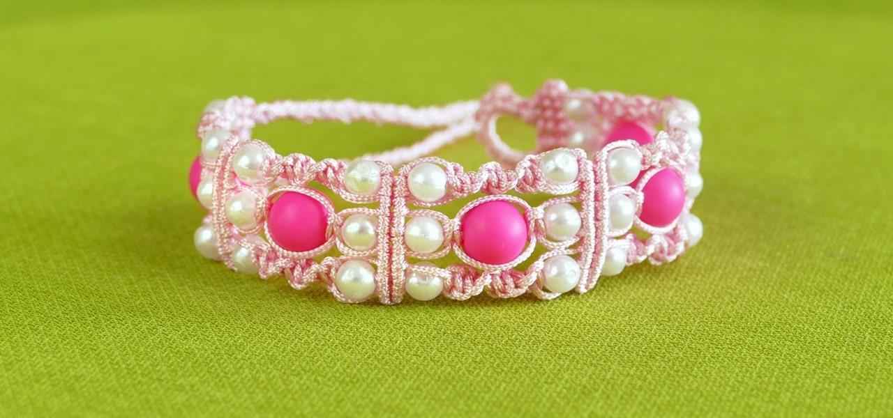 DIY Triple Spiral Knot Bracelet