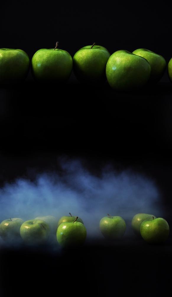 Apple Napoleon With a Splash of Drama