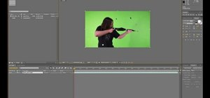 Transform a layer in Adobe After Effects CS5