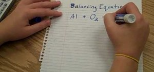 Balance chemical equations the fun way