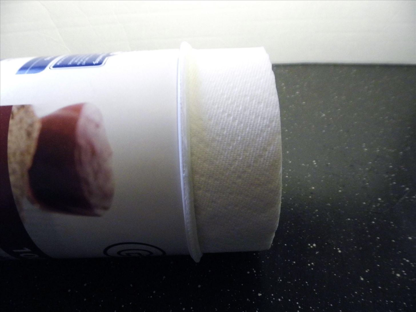 How to Mod an Oatmeal Container into a Paper Towel Dispenser