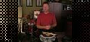 Play the double stroke roll drum rudiment