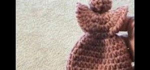 Crochet a holiday angel