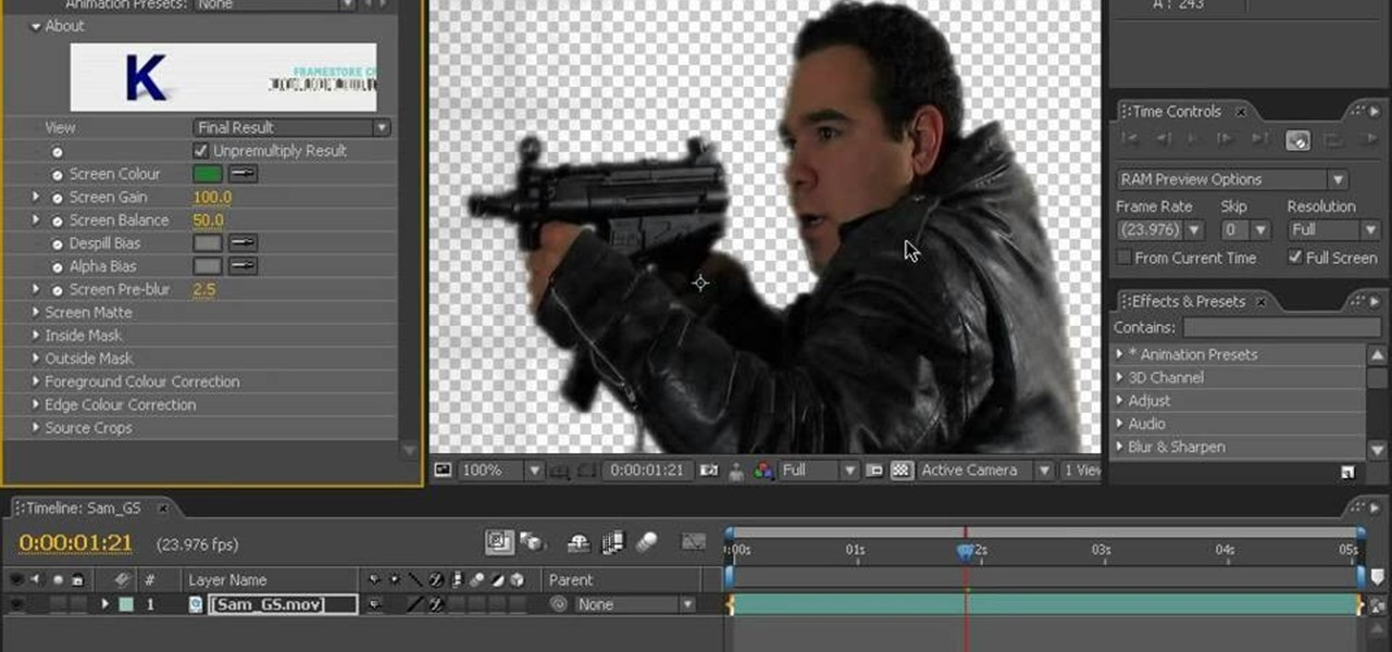How To Key A Green Screen Using After Effects 171 After Effects