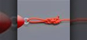 Tie the Rapala knot with a knot tying animation