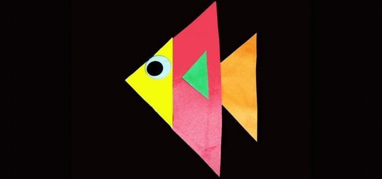 Teach Your Preschooler About Triangles By Making Fish 393243 on Back To School Safety Worksheets