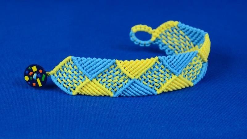 Square & Triangle Bracelet Tutorial