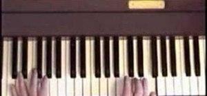 "Play ""Goodbye Yellow Brick Road"" on piano"