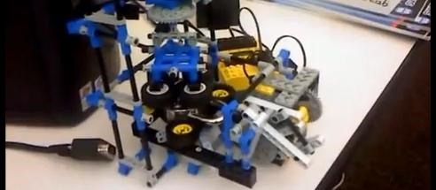Lego Lock Picking Robot