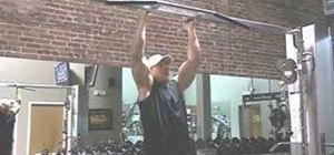 Workout your back with hammer grip pull ups
