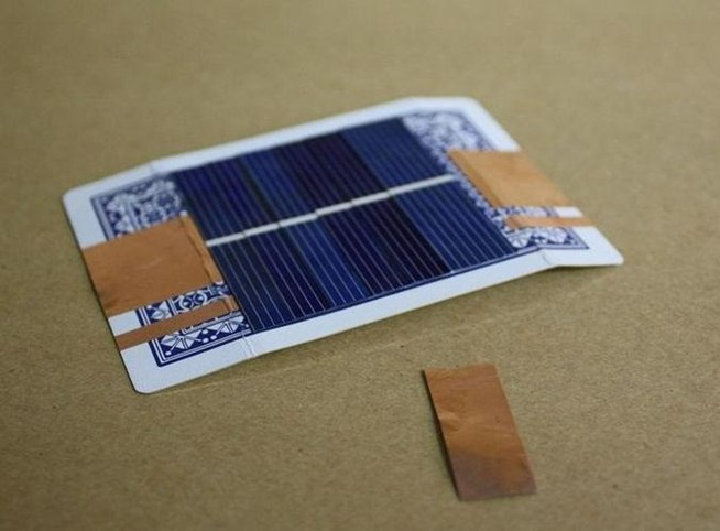 how to make solar battery