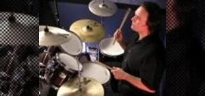 Play paradiddles on your drums kit