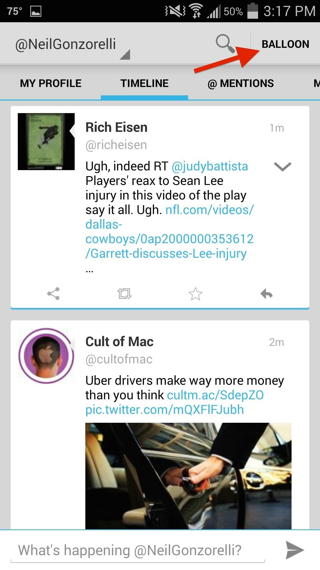 How to View Your Twitter Feed Faster & Tweet from Anywhere on Your Samsung Galaxy S4