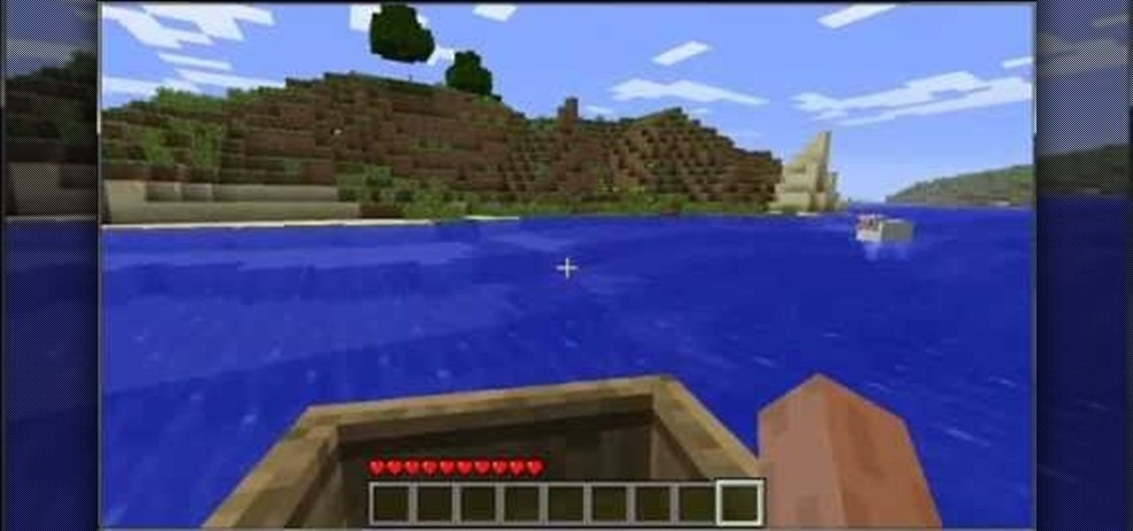 How to Make an awesome dock for your boat(s) in Minecraft