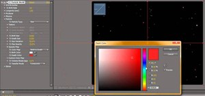 Create a  twinkling star effect in Adobe After Effects