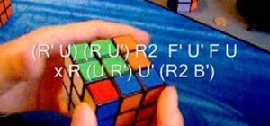 Solve the Rubik's Cube with the F Permutation