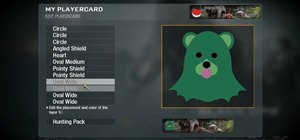 "Create a custom ""Pedobear"" playercard emblem in Call of Duty: Black Ops"