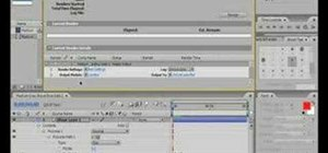 Render in After Effects CS3