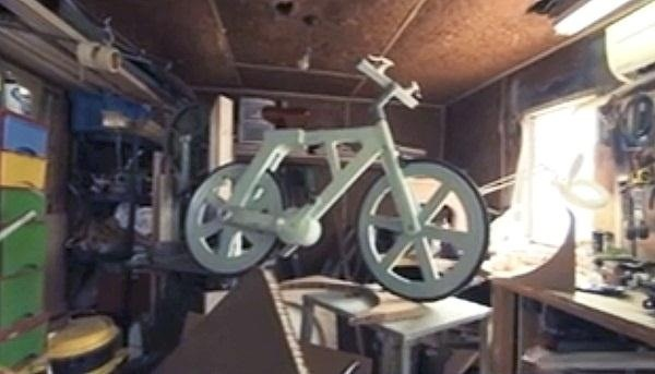 This Cardboard Bicycle Cost Only $12 to Make—And It Works!