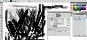 Simulate the texture of canvas in Adobe Photoshop CS5