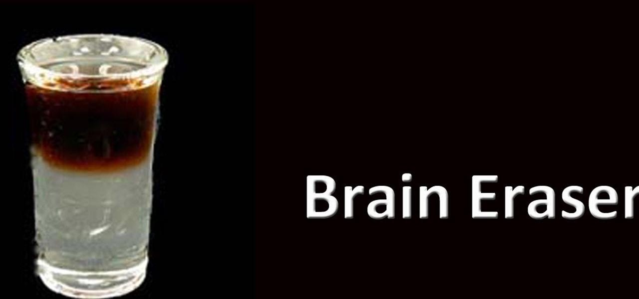 Brain Eraser Mixed Drink