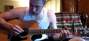 """Play """"What Hurts the Most"""" by Rascal Flatts on guitar"""