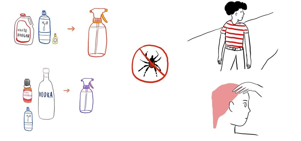 Make Your Own All-Natural Tick Repellent Spray