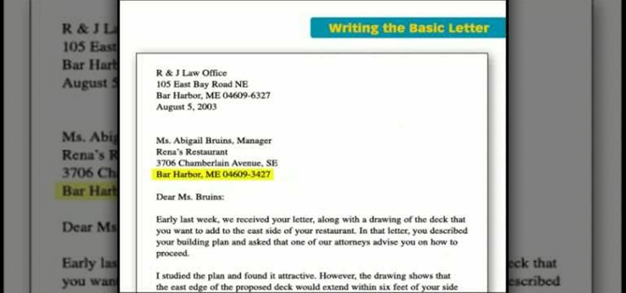 how to write a basic business letter jobs resumes