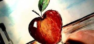 Draw an apple