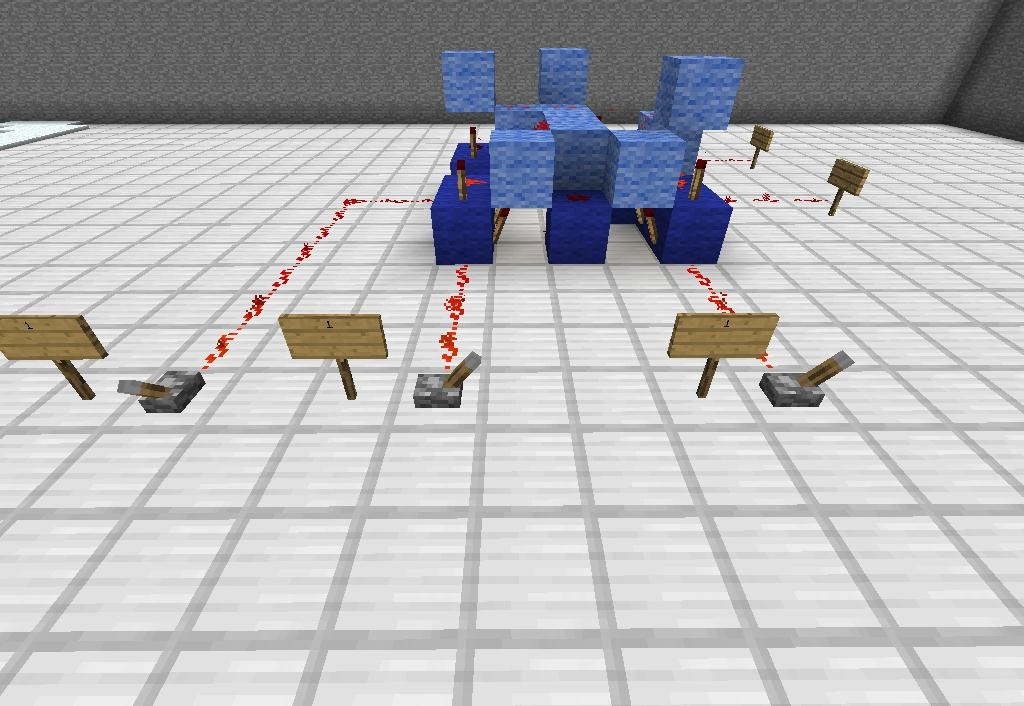 How to build a simple redstone adding machine in minecraft for Easy things to build
