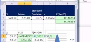 Use MS Excel 2010's NORM.DIST & NORM.S.DIST functions