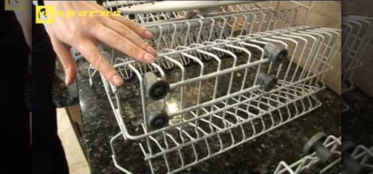 How To Replace Basket Wheels In An Electrolux Dishwasher